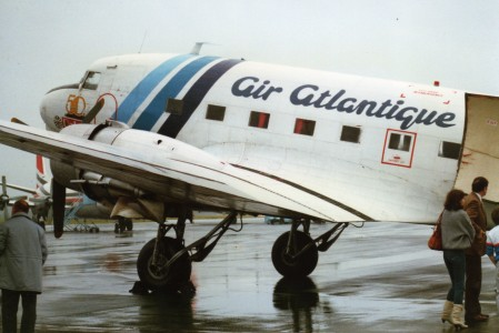 Air Atlantique (G-AMSV), Belfast International, September 1986 (13)
