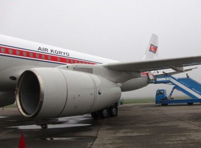 Air Koryo Tupolev aircraft