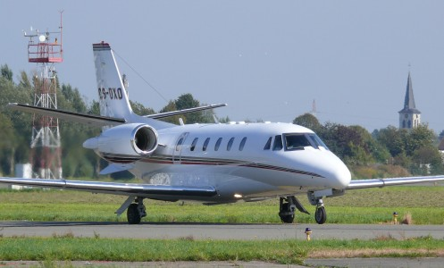 Antwerp Cessna Citation CS-DXO 01