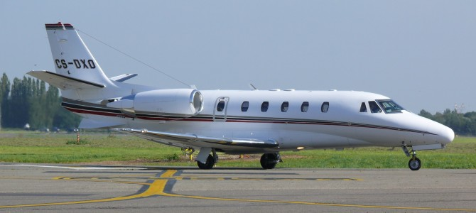 Antwerp Cessna Citation CS-DXO 02