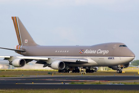 Asiana Cargo 747-400F HL7420 @ Amsterdam Airport Schiphol