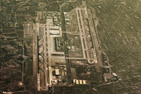 Athens Airport aerial view-2