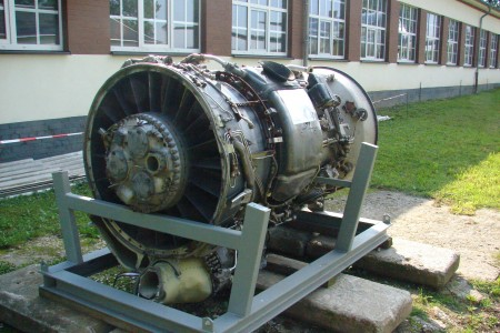 B737 Engine Flugwelt Altenburg-Nobitz