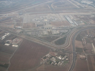 Ben Gurion International Airport (IATA: TLV, ICAO: LLBG)