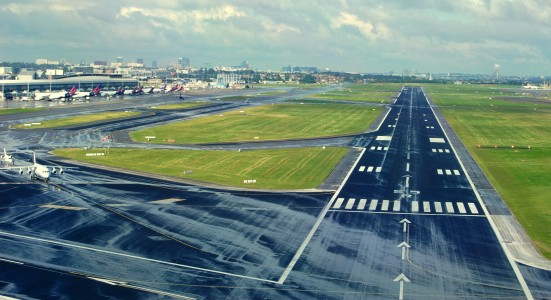 Brussels Aiport Runway 25 R