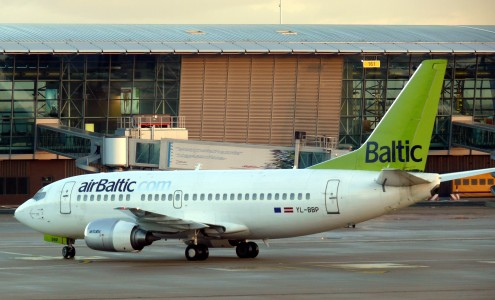 Brussels airport air baltic 02