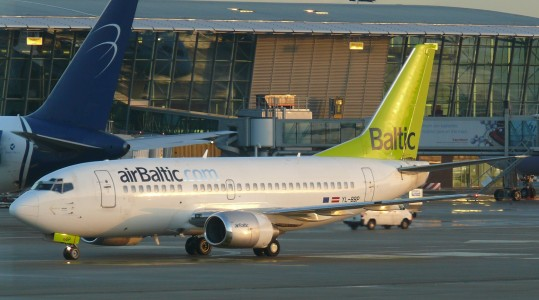 Brussels airport air baltic 03