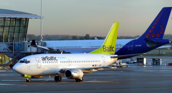 Brussels airport air baltic 04
