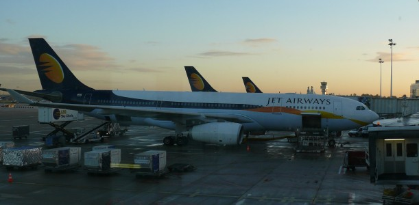 Brussels airport jet airways