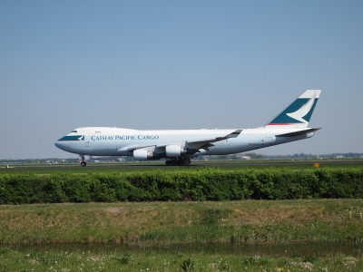 Cathay Pacific Cargo B-LIC