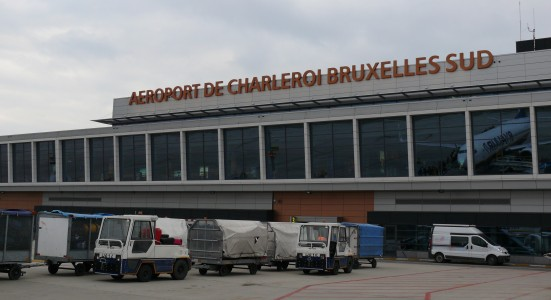 Charleroi brussels south main hall