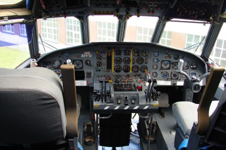 Cockpit Breguet Atlantic 61+12 Flugwelt Altenburg-Nobitz