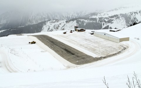 Courchevel aeroport