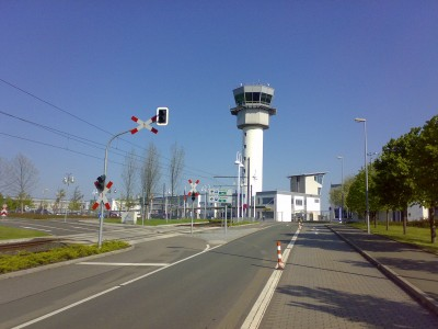 Erfurt airport tower
