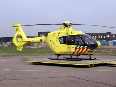 Eurocopter PH-ULP, ANWB, Erasmus MC, Ambulance 'Mobiel Medisch Team', Lifeliner 2 at Rotterdam Airport