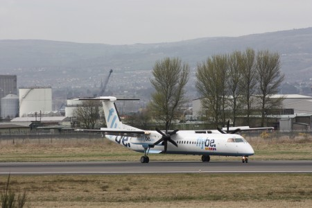 Flybe (G-ECOD), Belfast City Airport, April 2010 (02)
