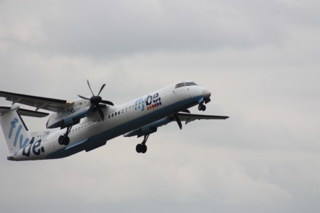 Flybe (G-ECOO), Belfast City Airport, April 2010 (02)
