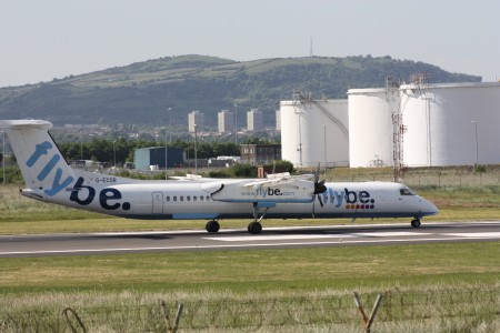 Flybe (G-ECOR), Belfast City Airport, June 2010 (05)