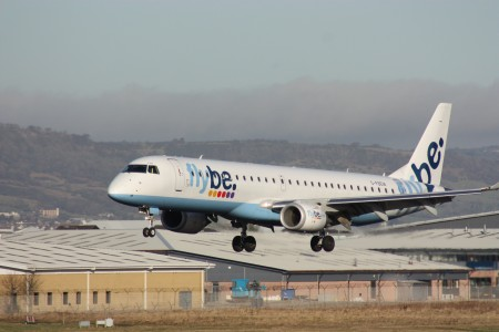 Flybe (G-FBEM), Belfast City Airport, January 2011 (01)