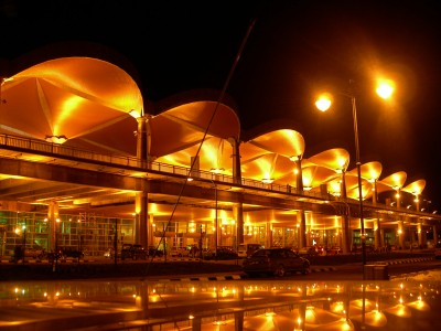 Kuching International Airport at Night