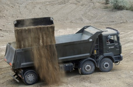 MAN FE460A truck in Afghanistan