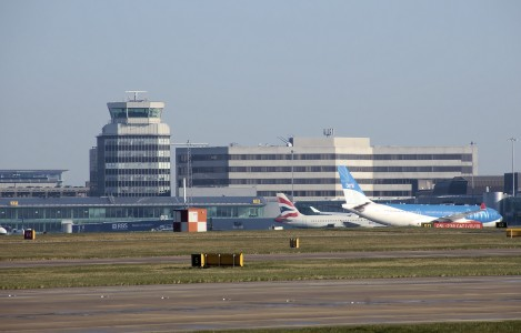 Manchester airport from the south arp