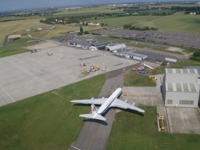 Manston Airport aerial view