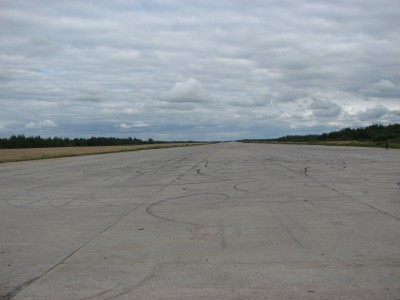 Military airport of USSR in Raadi 1