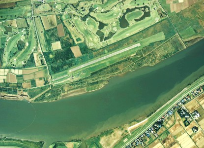 Otone Airfield Aerial photograph