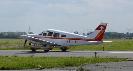 Piper Pa28 HB-PAF