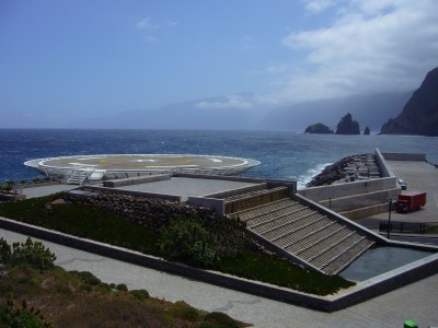 Porto Moniz heliport