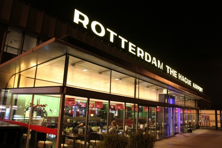 Rotterdam The Hague Airport Panoramadek 10-01-2012