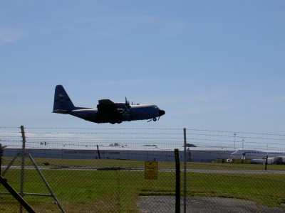 Take-off at Prestwick Airport 3730