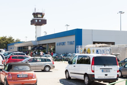 Tivat airport, Montenegro, August 2014, picture 5
