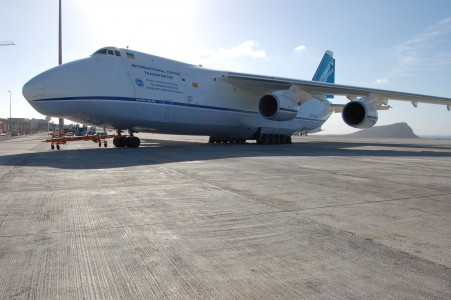 UR-82027 Antonov at GCTS 2
