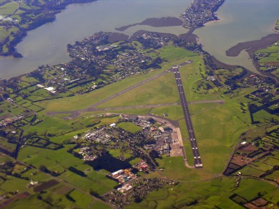 Whenuapai Airfield From The Air