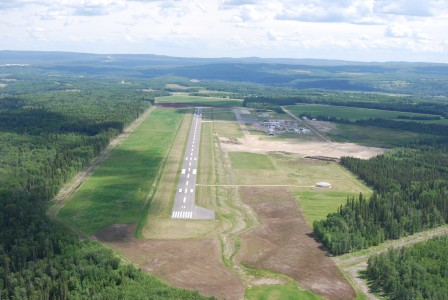 Whitecourt Airport Eastern Perspective