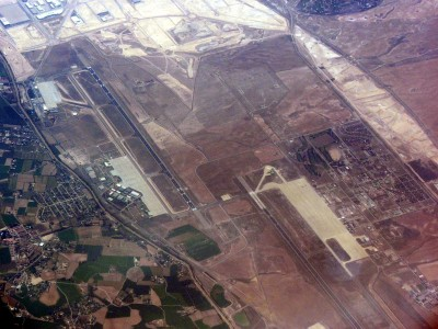 Zaragoza airport view 7424