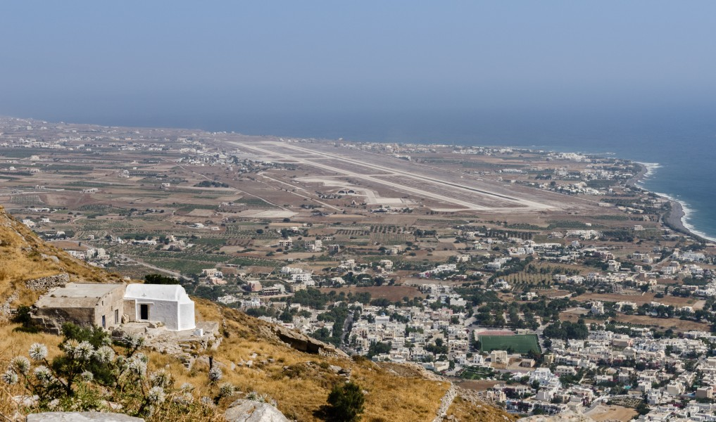 2012 - Heroon - Church of Annunciation - Kamari Airport - Ancient Thera - Santorini - Greece