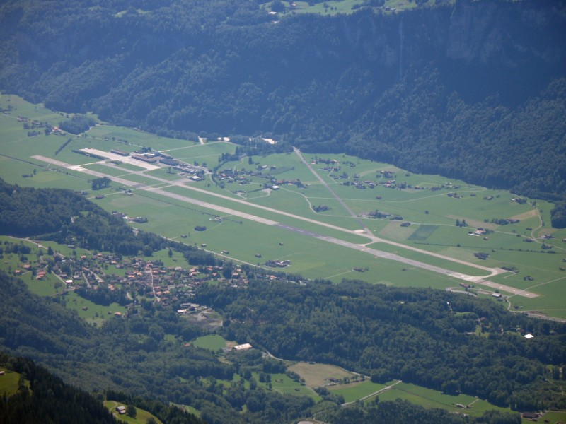 5951 - Meiringen Air Force Base viewed from the Rothorn