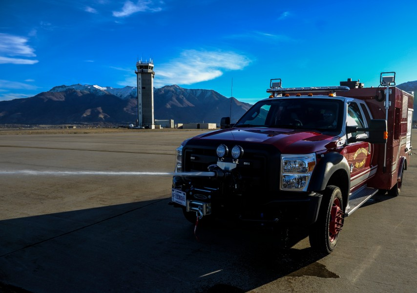 Air Force Ford fire truck