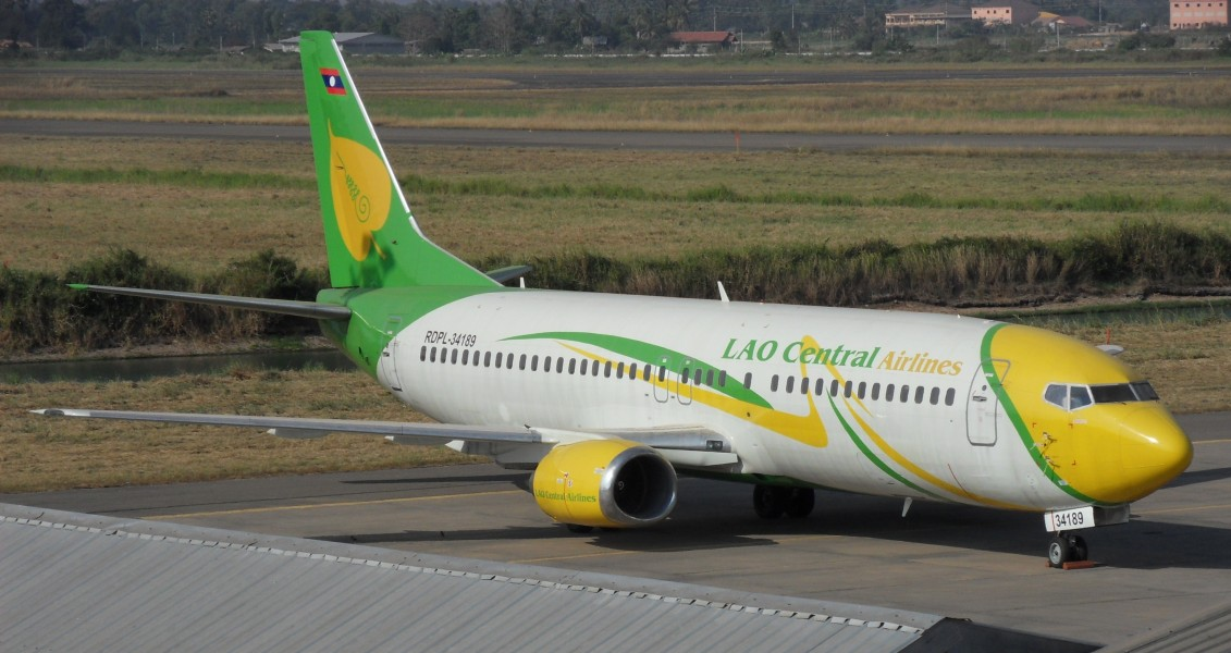Boeing 737-400 LaoCentralAirlines Vtne