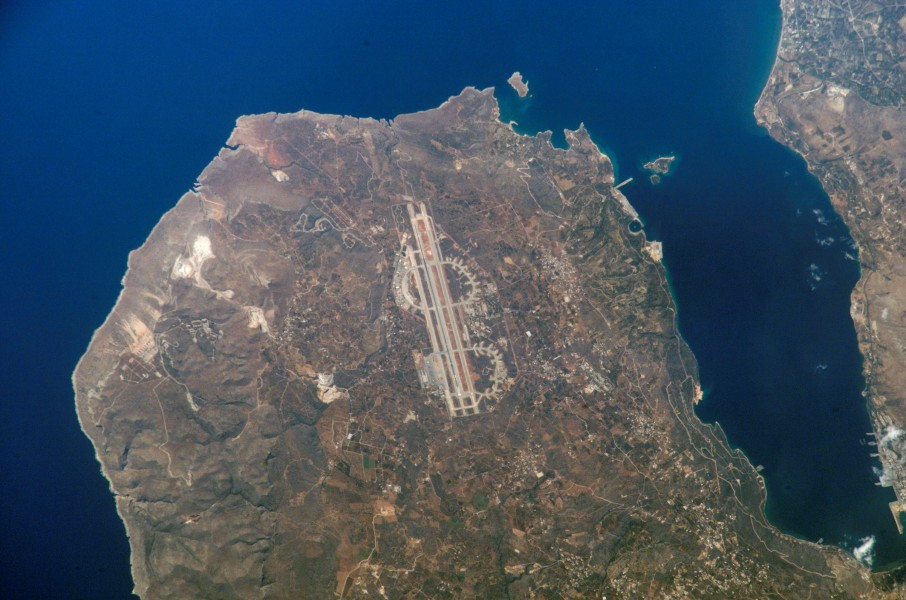 Chania Airport NASA