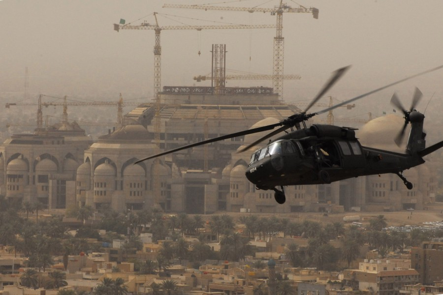 Flickr - The U.S. Army - Helicopter over Baghdad