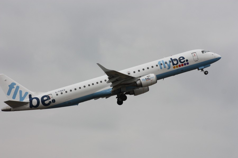 Flybe (G-FBED), Belfast City Airport, April 2010 (03)