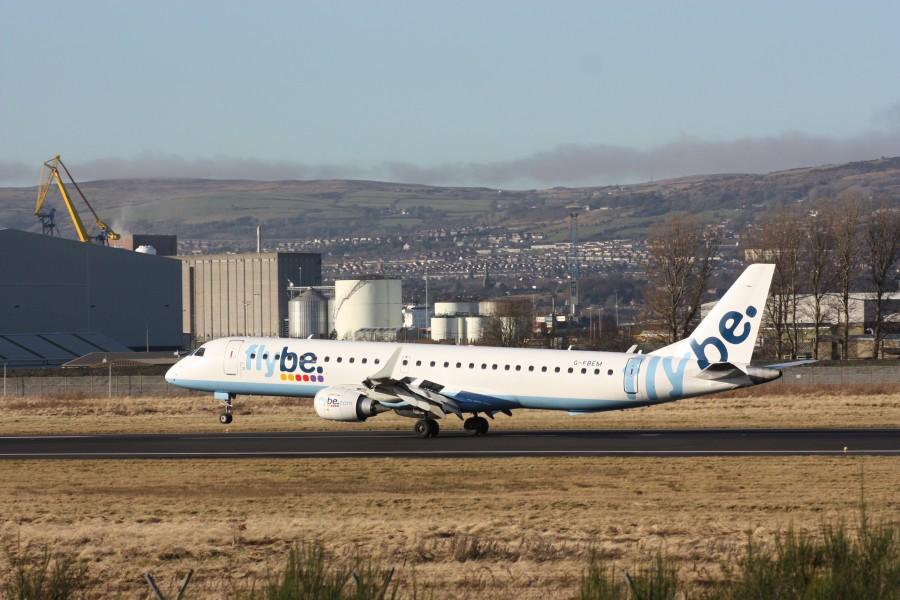 Flybe (G-FBEM), Belfast City Airport, January 2011 (03)