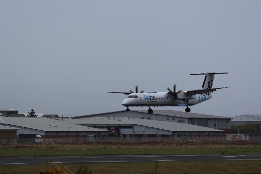 Flybe (G-JECG), Belfast City Airport, November 2012 (01)