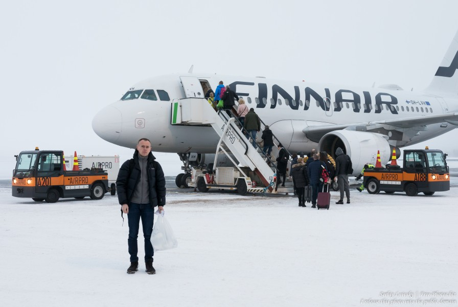 Kuusamo airport, Finland, photographed in January 2020 by Serhiy Lvivsky, picture 4