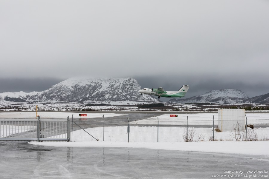 Leknes airport, Norway, in February 2020, by Serhiy Lvivsky, picture 3
