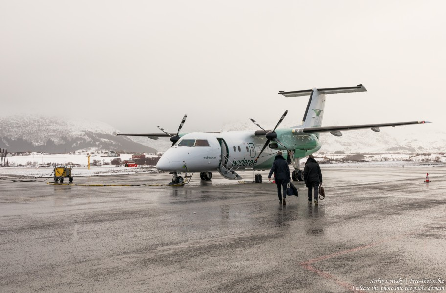 Leknes airport, Norway, in February 2020, by Serhiy Lvivsky, picture 5